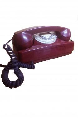 Telefono storico rosso anni...
