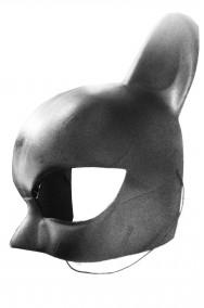 Maschera Catwoman nera originale DC versione Halle Berry