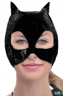 Maschera Batgirl o Catwoman economica in vinile