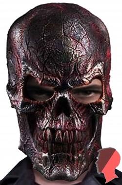 Maschera teschio cibernetico terminator