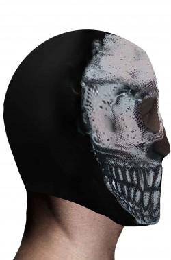 Maschera da teschio per Halloween elasticizzata
