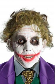 Parrucca verde del Joker di Heath Ledger Batman The Dark Knight rises