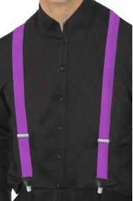 Bretelle viola porpora eleganti