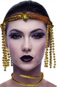 Corona e gioiello da Cleopatra regina egiziana