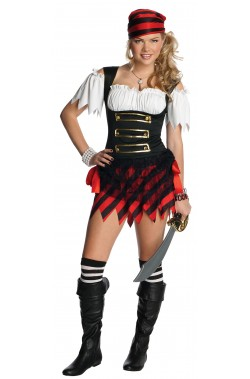 Costume donna Pirata Teen Ager