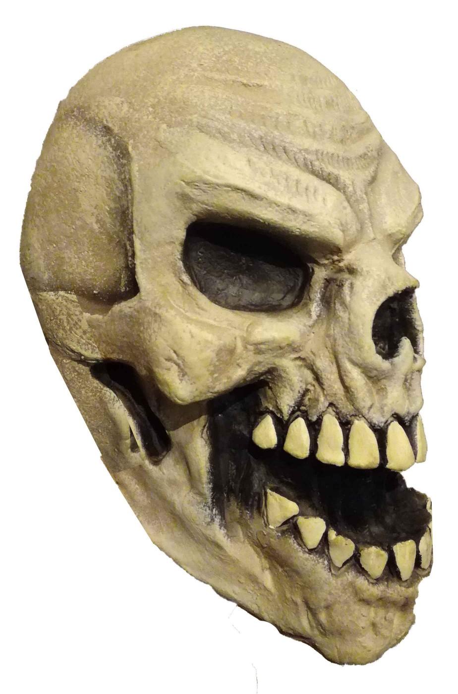 Grande teschio finto di gomma decorazione Halloween