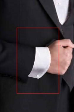 Polsini semirigidi da camicia elegante