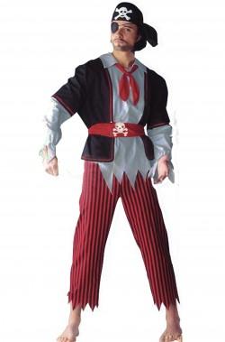 Vestito di carnevale da Pirata adulto