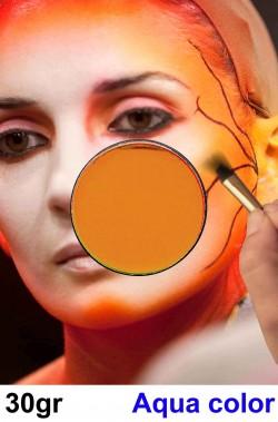 Trucco per viso e corpo arancio terra d'india