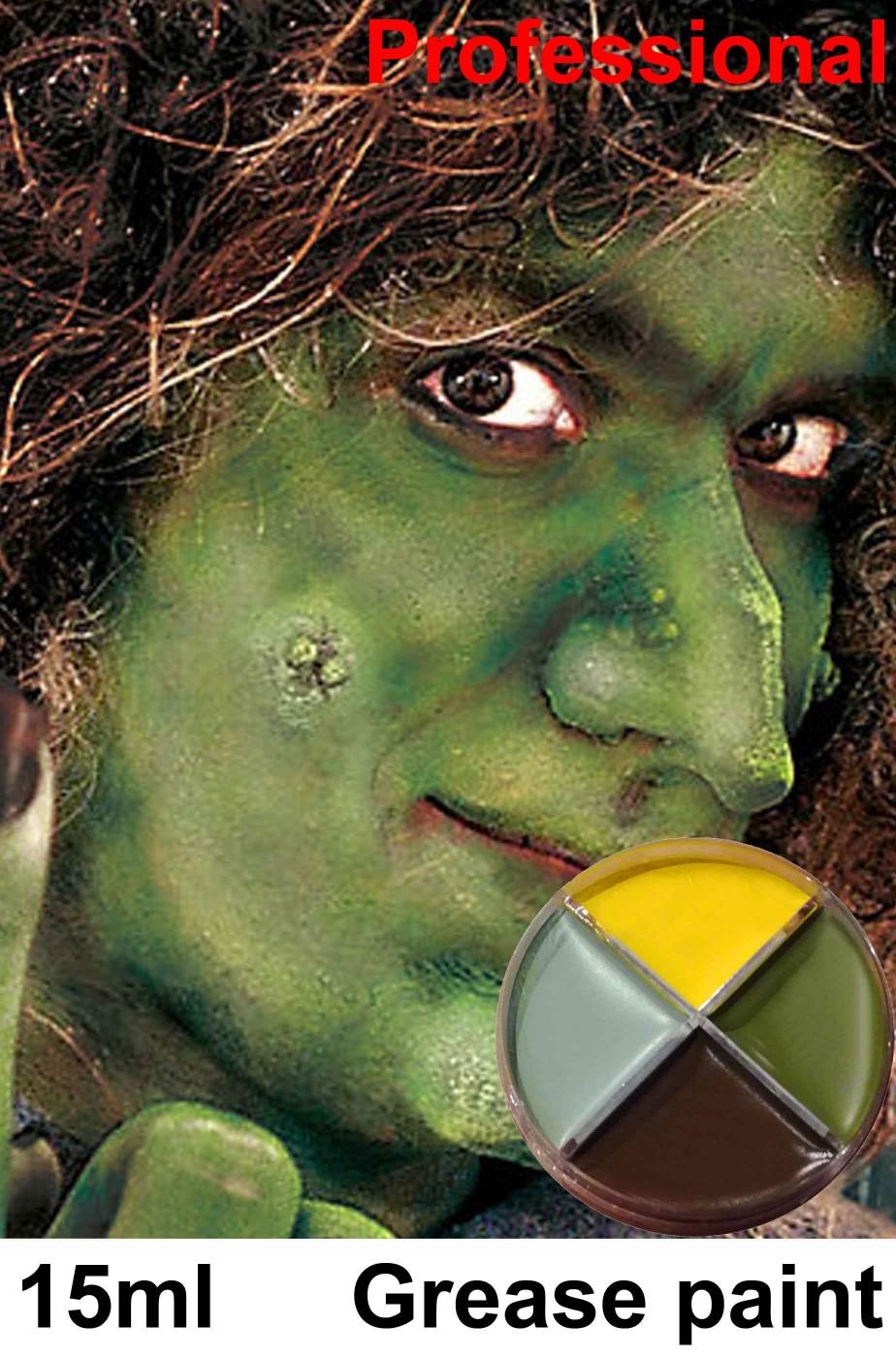 Trucco Halloween palette 4 colori
