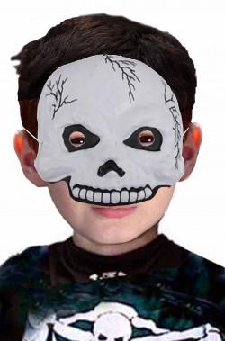 Maschera Halloween bambino economica da scheletro