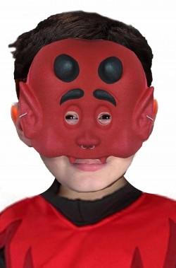 Maschera Halloween economica da bambino da diavolo