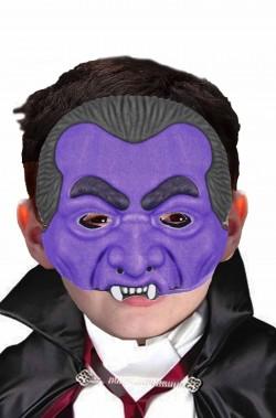 Maschera Halloween economica bambino vampiro Dracula