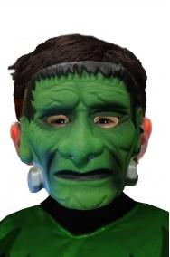 Maschera Halloween mostro di Frankenstein bambino