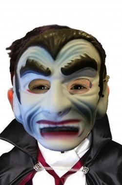 Maschera Halloween economica bambino vampiro bianco