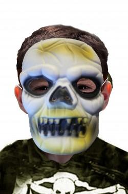 Maschera di Halloween economica da teschio