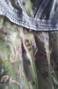 Costume da principessa verde