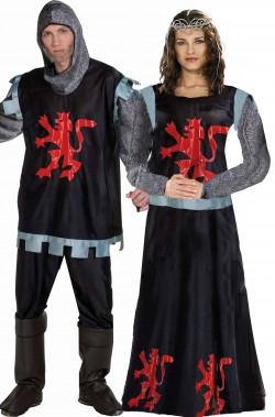 Coppia costumi medievali...
