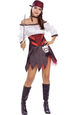 Costumi donna pirata Punky Sexy