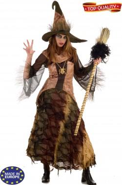 Coppia di vestiti di Halloween adulto Strega e Mago