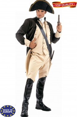 Vestito uniforme George Washington divisa stile storico