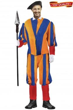 Vestito da Guardia Svizzera pontificia del Papa