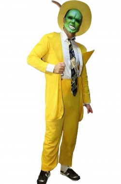 Costume Cosplay di The Mask di Jim Carrey