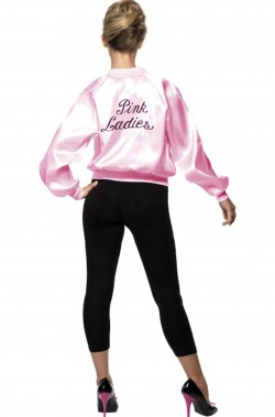 Giacca rosa donna Pink Ladies Grease