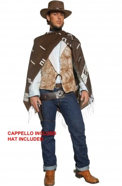Vestito Cowboy Clint Eastwood Il buono il brutto e il cattivo