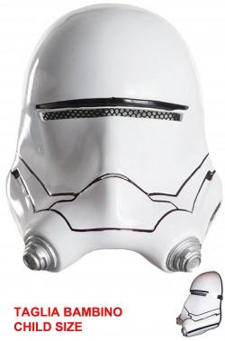 Maschera soldato bianco di Star Wars bambino Flametrooper