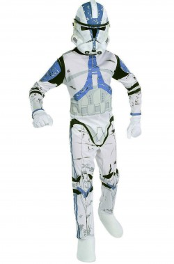 Vestito di carnevale guardia imperiale Clone Trooper Star Wars