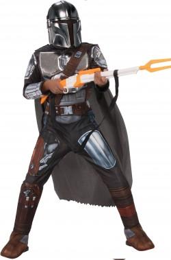 Vestito The Mandalorian con armatura fucile incluso