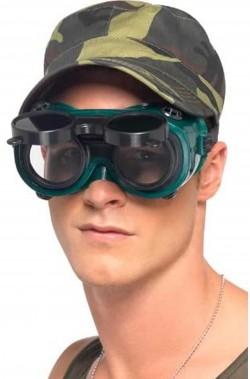 Finti occhiali a visione notturna da soldato giocattolo