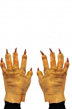 Guanti per mani mostro con unghie lunghe