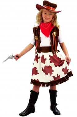 Vestito di carnevale cowgirl