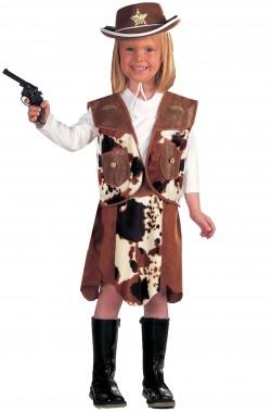 Vestito di carnevale bambina cowgirl Julie