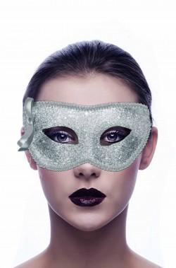 Maschera di carnevale argento