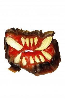 Prostetica bocca di mostro alieno di lattice