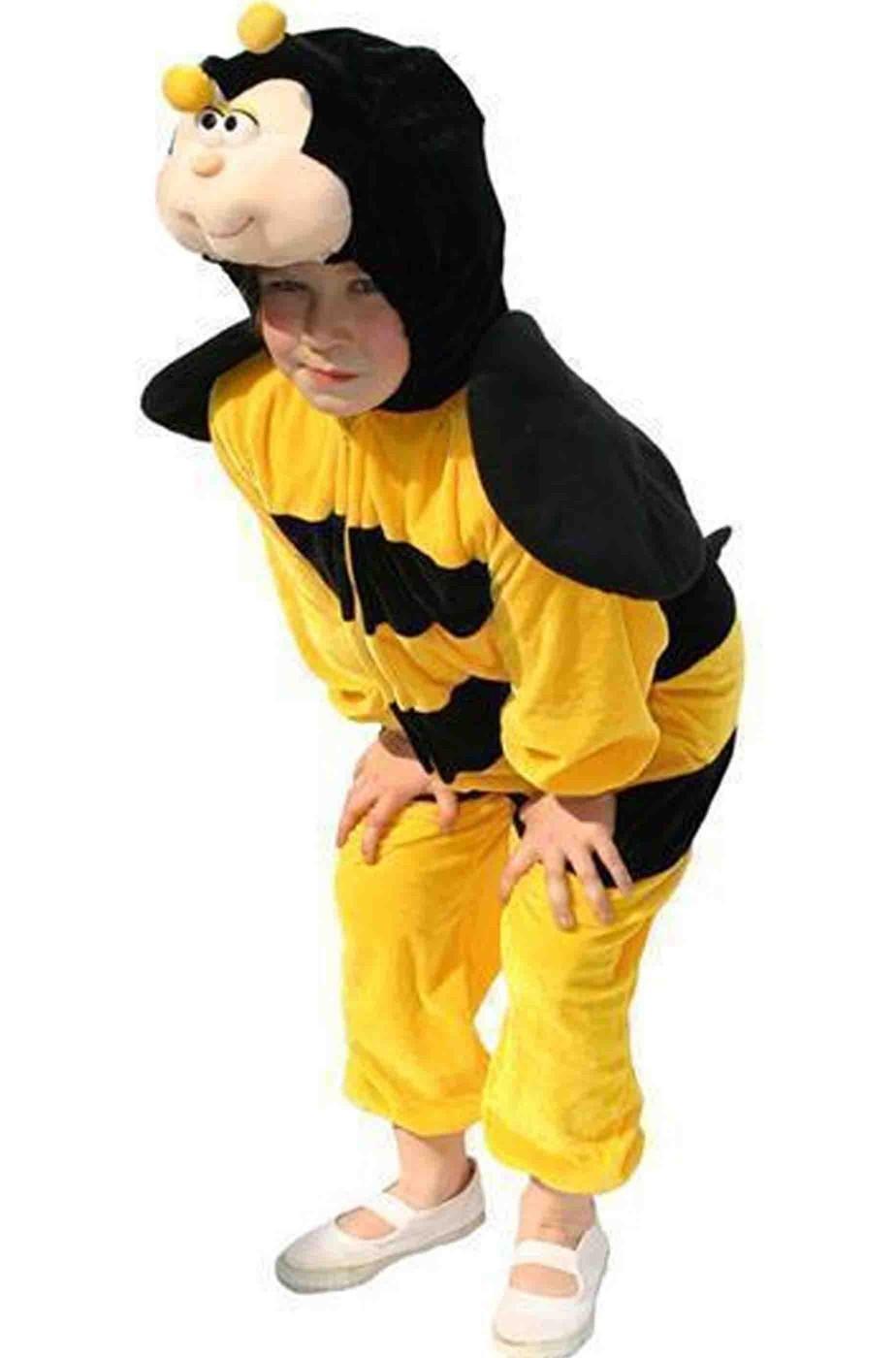 Vestito di carnevale bambino da Ape giallo e nero