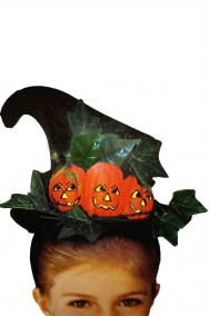 Cappello da strega con zucche