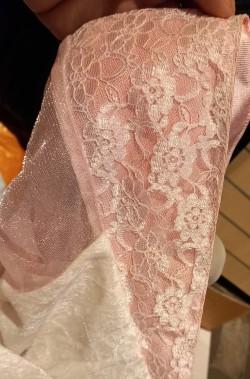 Vestito da principessa rosa peach