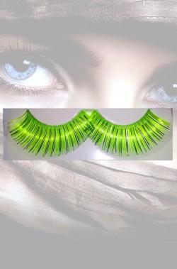 Ciglia finte verdi