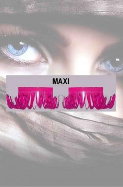 Ciglia finte lunghe rosa maxi Drag Queen