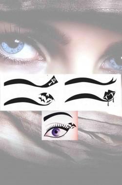 Eyeliner trucco Halloween da vampira