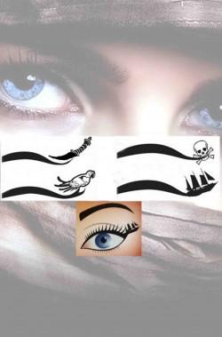 Eyeliner per trucco makeup da piratessa