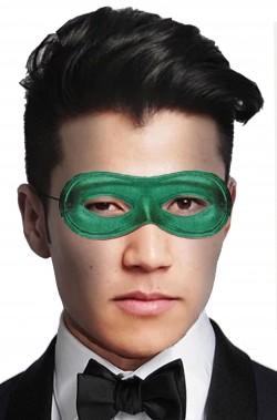 Maschera di carnevale veneziano economica verde solo occhi