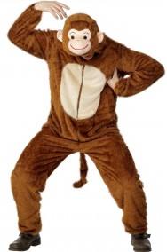 Vestito di carnevale da scimmia mascotte