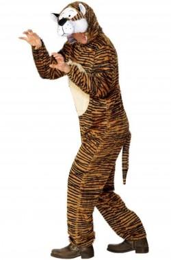 Vestito di carnevale mascotte da tigre