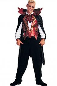 Vestito di Halloween da uomo Lucifero elegante