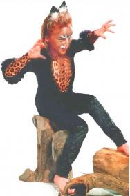 Vestito di Carnevale da leopardo